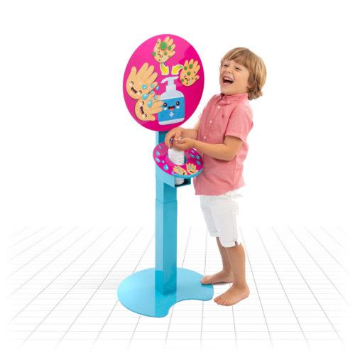 Kid's Multi-height Sanitising Unit