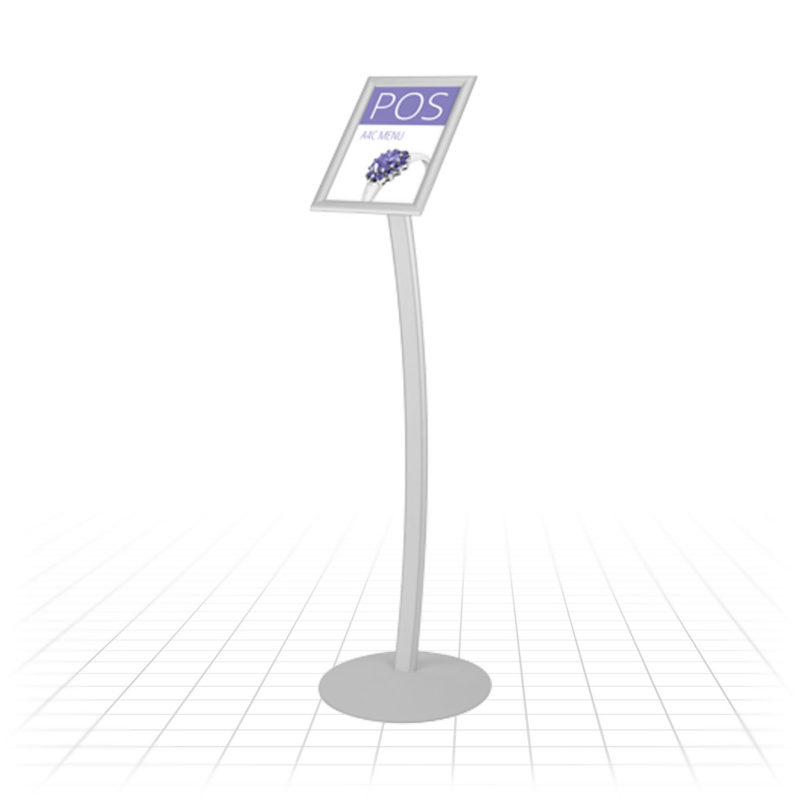 EOS Menu Stand (A4 Portrait / Curved)