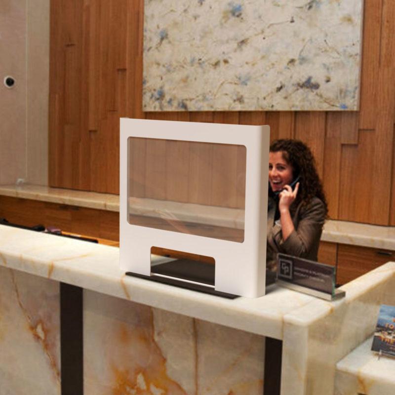 Premium Worktop Screen (in Hotel)
