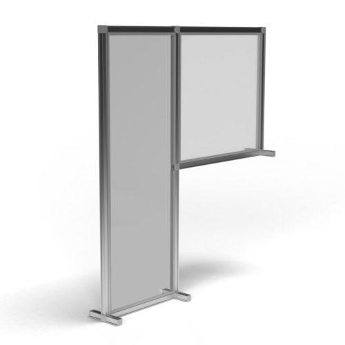 T3 Desk Divider – Floor Standing