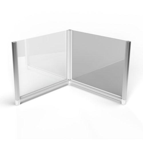 T3 Desk Divider – L-shaped