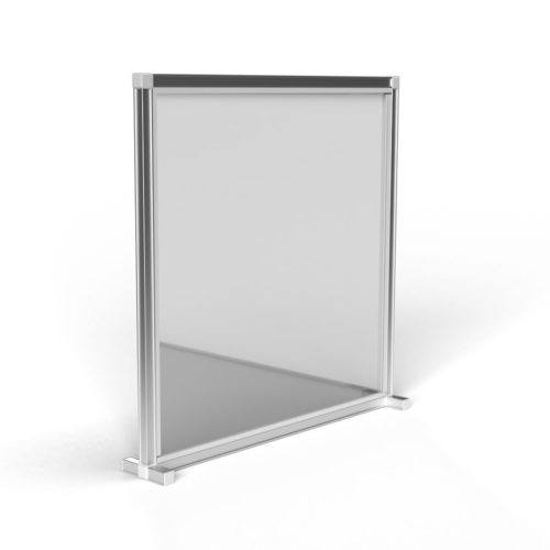 T3 Desk Divider – Single / Straight