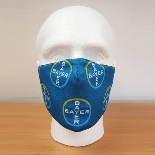 Premium Printed Face Mask [Bayer]