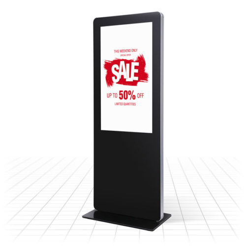 Digital Totem Rounded Corners