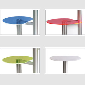 Podium iPad Display Stand (Colours)