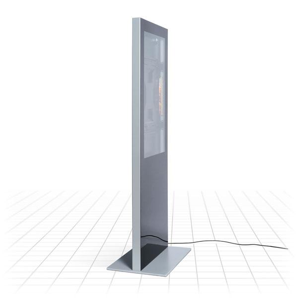 Slim Digital Totem (Side View)
