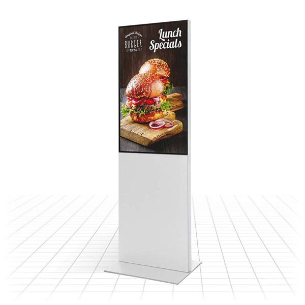 Smart Line Digital Totem (Restaurant)