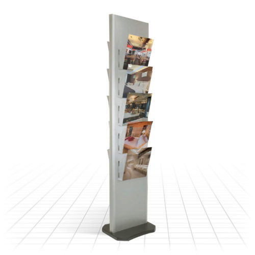 Tower Literature Stand